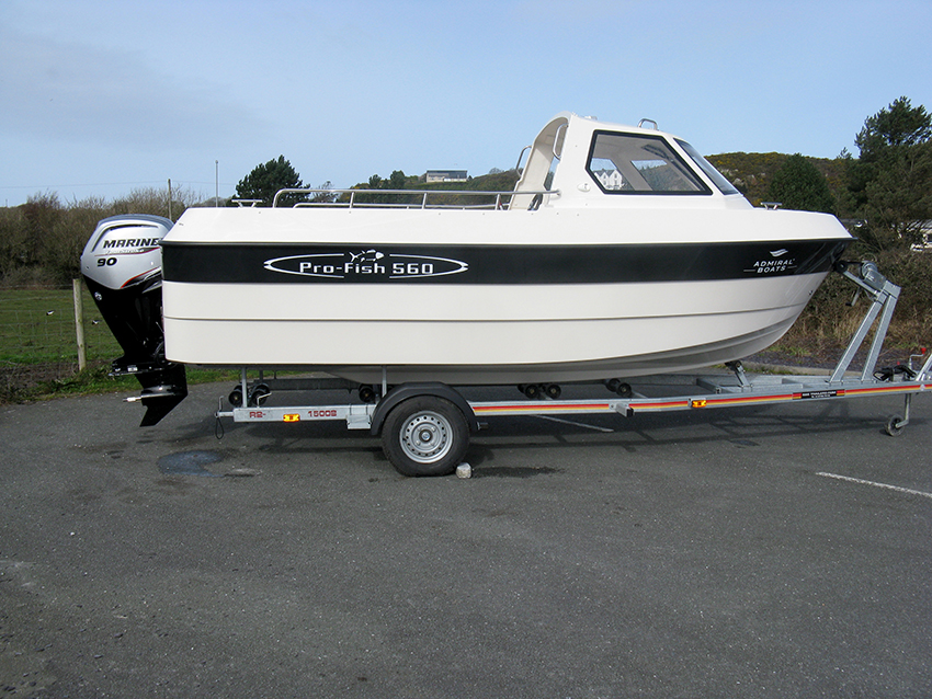 Admiral Pro Fish 560 Day Fisher for sale at Harbour Marine in Pwllheli