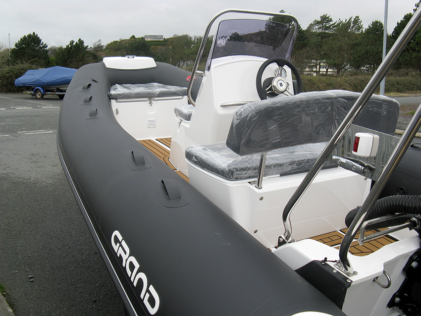 GRAND Silverline S470 RIB for sale at Harbour Marine in North Wales