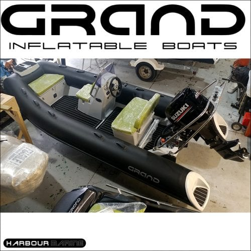 GRAND S420 RIB For Sale at Harbour Marine in Pwllheli
