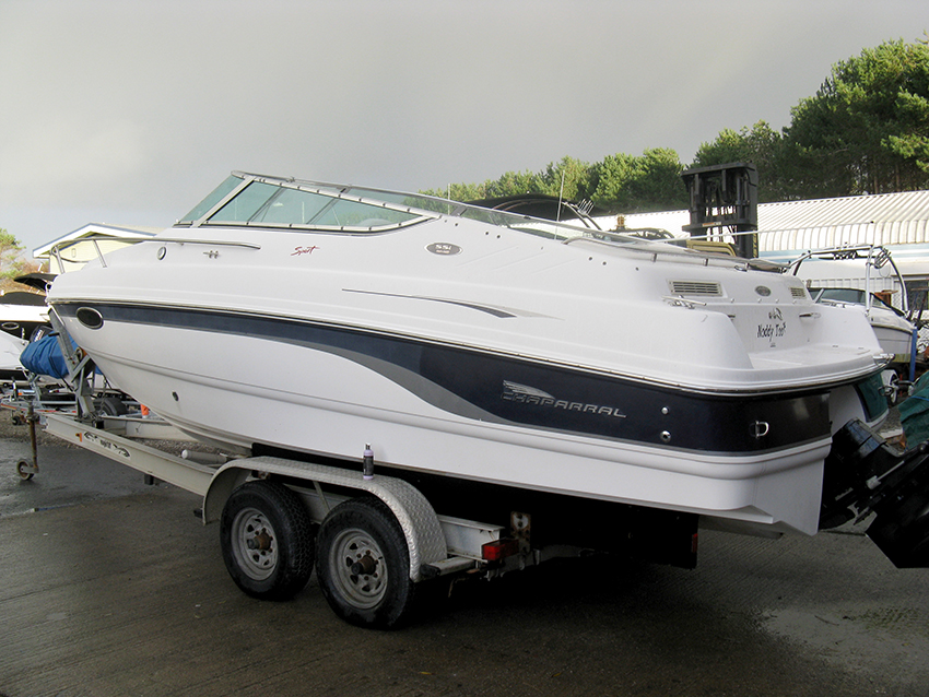 Chaparral 245 SSI cuddy cabin for sale at Harbour Marine