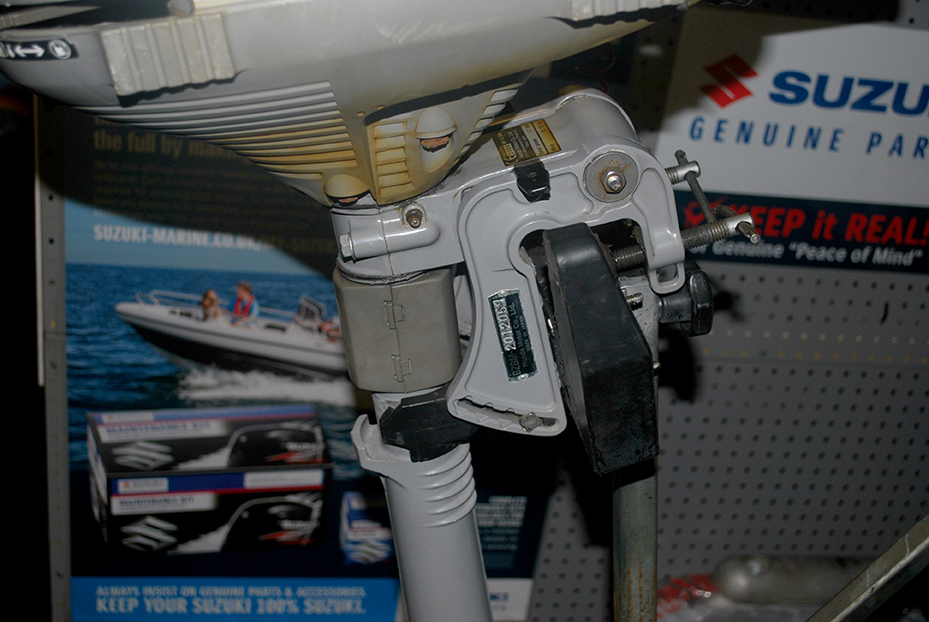 Honda 2.3hp Outboard Engine For Sale At Harbour Marine in Pwllheli