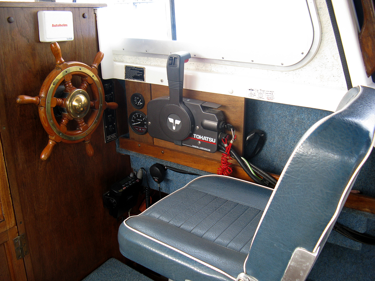 Hardy Pilot 20 SE For Sale at Harbour Marine in Pwllheli