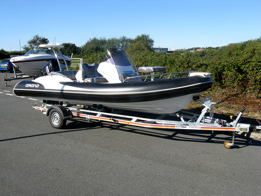 Grand G580 For Sale at Harbour Marine in Pwlheli
