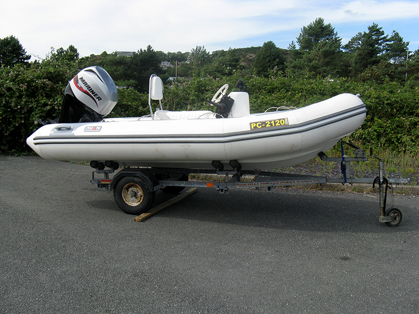 Avon Adventure 410 RIB For Sale at Harbour Marine in Pwllheli