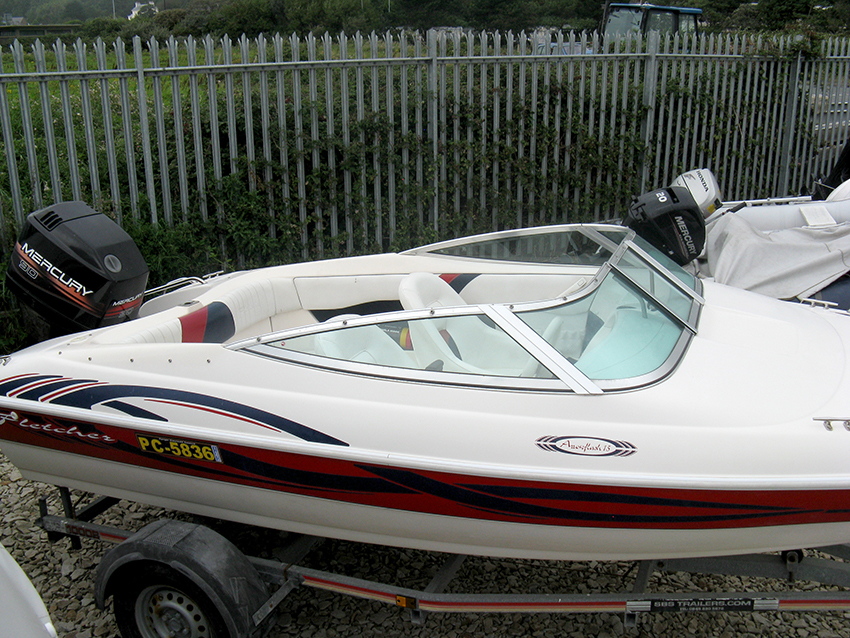 Fletcher Arrowflash 15 For Sale at Harbour Marine in Pwllheli