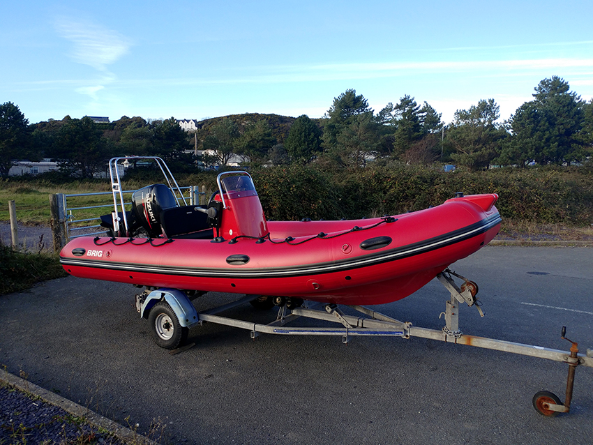 Brig Falcon 500 For Sale at Harbour Marine Pwllheli