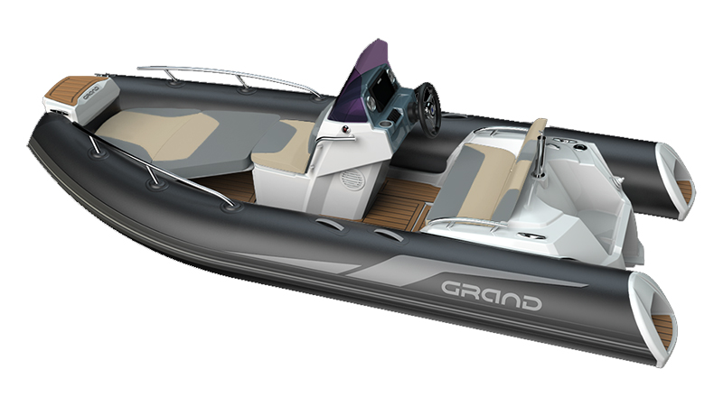 New GRAND G420 RIB for sale at Harbour Marine in Pwllheli, North Wales