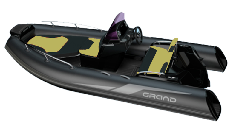 New GRAND G420 RIB for sale at Harbour Marine, Pwllheli, North Wales