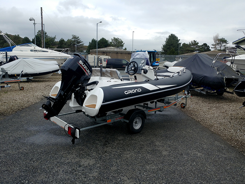 GRAND G420 For Sale at Harbour Marine in Pwllheli