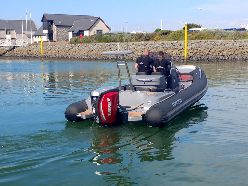 Used GRAND G850 8.5m RIB For Sale at Harbour Marine in Pwllheli