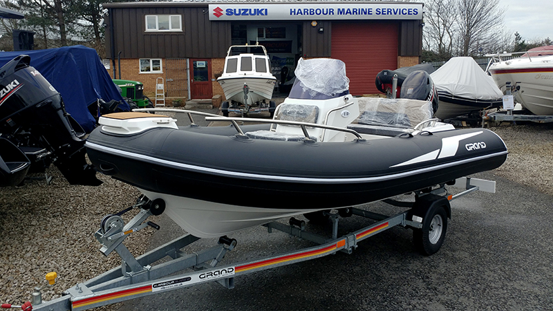 GRAND G420 For Sale at Harbour Marine with Suzuki DF60
