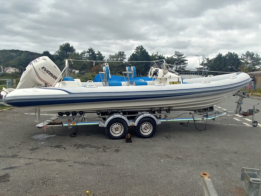 Used Osprey ViperMax 7.5m RIB For Sale at Harbour Marine