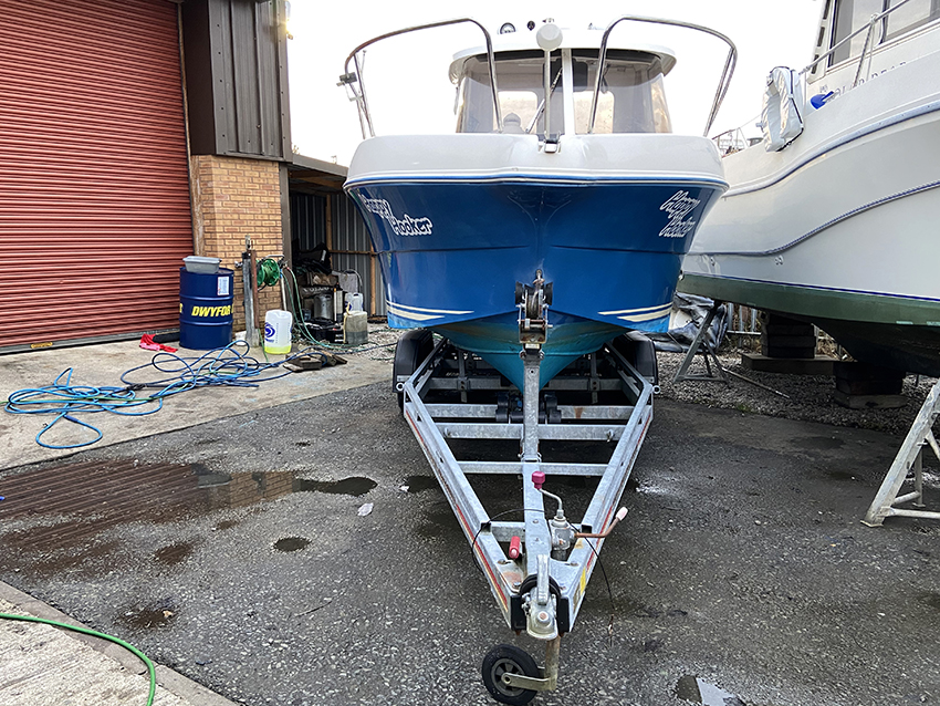 Arvor 215 AS for sale at Harbour Marine in Pwllheli North Wales